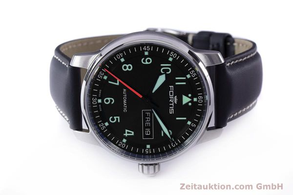 Used luxury watch Fortis Flieger steel automatic Ref. 704.21.158  | 161737 09