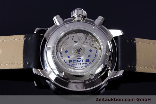 Used luxury watch Fortis Flieger Chronograph chronograph steel automatic Ref. 705.21.141  | 161738 02