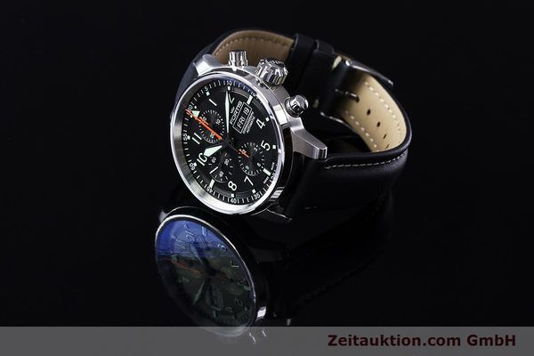 Used luxury watch Fortis Flieger Chronograph chronograph steel automatic Ref. 705.21.141  | 161738 05