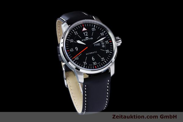 Used luxury watch Fortis Flieger steel automatic Ref. 704.21.158  | 161739 01