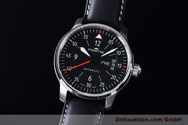 NEU - FORTIS FLIEGER COCKPIT TWO FLIEGERUHR 704.21.19L01 GLASBODEN LP: 1510,- Euro [161739]