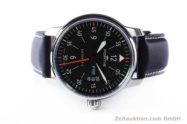 Used luxury watch Fortis Flieger steel automatic Ref. 704.21.158  | 161739 09