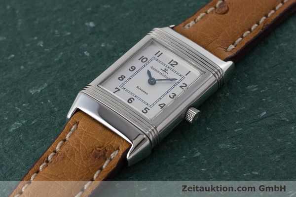Used luxury watch Jaeger Le Coultre Reverso steel quartz Kal. 608 Ref. 260.8.08  | 161740 01