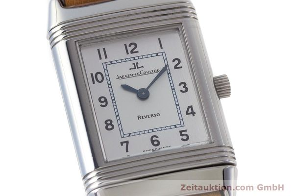 Used luxury watch Jaeger Le Coultre Reverso steel quartz Kal. 608 Ref. 260.8.08  | 161740 02