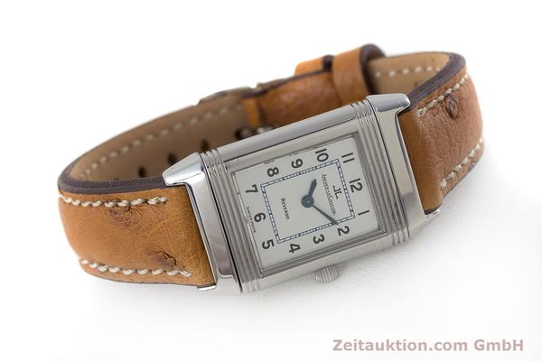 Used luxury watch Jaeger Le Coultre Reverso steel quartz Kal. 608 Ref. 260.8.08  | 161740 03