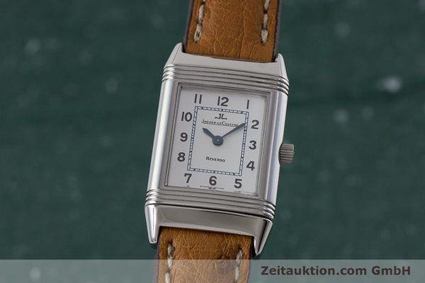 Used luxury watch Jaeger Le Coultre Reverso steel quartz Kal. 608 Ref. 260.8.08  | 161740 04