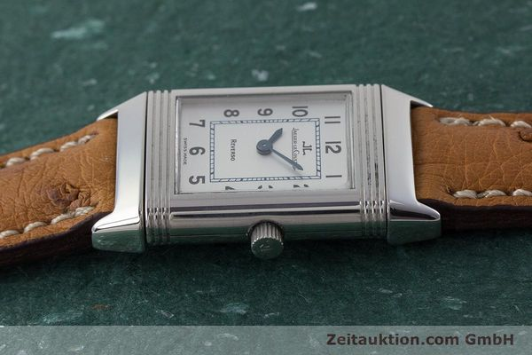 Used luxury watch Jaeger Le Coultre Reverso steel quartz Kal. 608 Ref. 260.8.08  | 161740 05