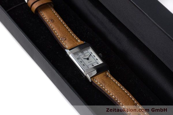 Used luxury watch Jaeger Le Coultre Reverso steel quartz Kal. 608 Ref. 260.8.08  | 161740 07