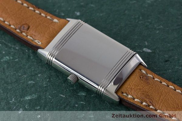 Used luxury watch Jaeger Le Coultre Reverso steel quartz Kal. 608 Ref. 260.8.08  | 161740 12