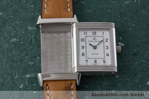 Used luxury watch Jaeger Le Coultre Reverso steel quartz Kal. 608 Ref. 260.8.08  | 161740 13
