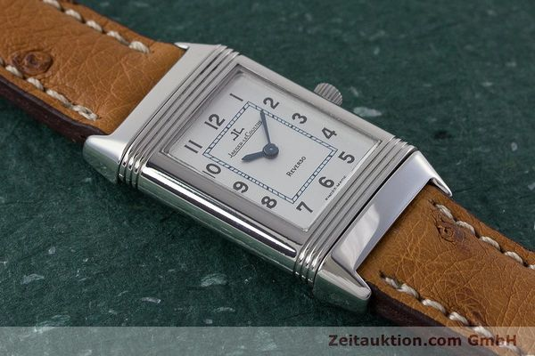 Used luxury watch Jaeger Le Coultre Reverso steel quartz Kal. 608 Ref. 260.8.08  | 161740 14