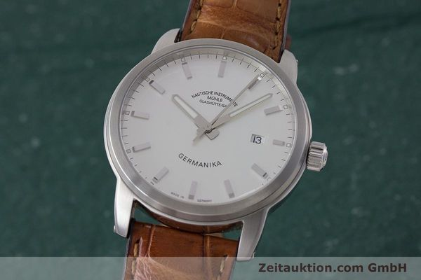 MÜHLE GERMANIKA STEEL AUTOMATIC KAL. ETA 2824-2 LP: 1495EUR [161743]