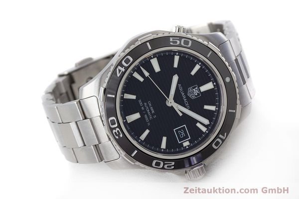 Used luxury watch Tag Heuer Aquaracer steel automatic Kal. 5 Sellita SW200-1 Ref. WAK2110  | 161744 03