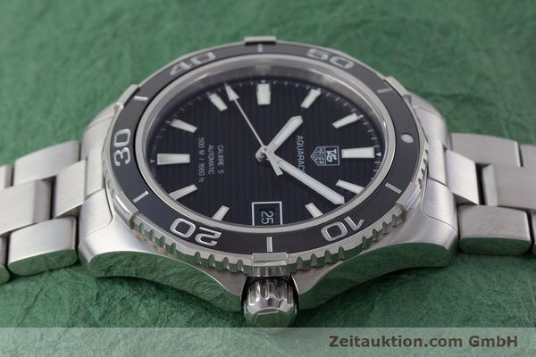 Used luxury watch Tag Heuer Aquaracer steel automatic Kal. 5 Sellita SW200-1 Ref. WAK2110  | 161744 05