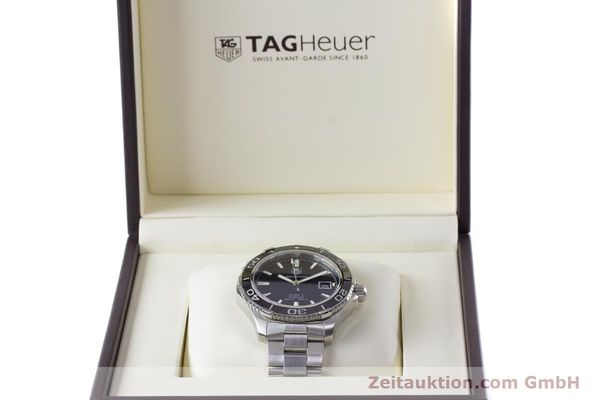 Used luxury watch Tag Heuer Aquaracer steel automatic Kal. 5 Sellita SW200-1 Ref. WAK2110  | 161744 07