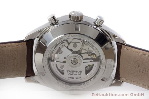 Used luxury watch Tag Heuer Carrera chronograph steel automatic Kal. 16 ETA 7750 Ref. CAS2112  | 161745 09
