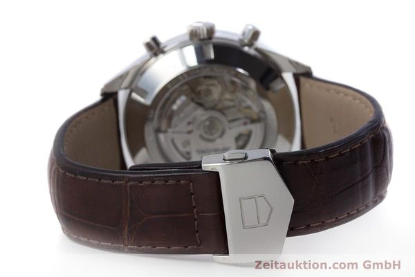 Used luxury watch Tag Heuer Carrera chronograph steel automatic Kal. 16 ETA 7750 Ref. CAS2112  | 161745 11