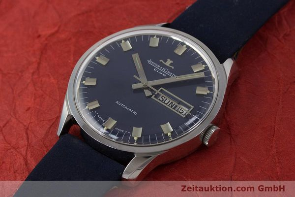 Used luxury watch Jaeger Le Coultre Club steel automatic Kal. AS1908 Ref. E300105  | 161746 01