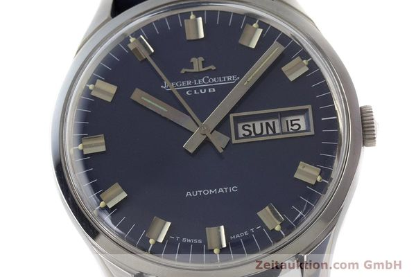 Used luxury watch Jaeger Le Coultre Club steel automatic Kal. AS1908 Ref. E300105  | 161746 02