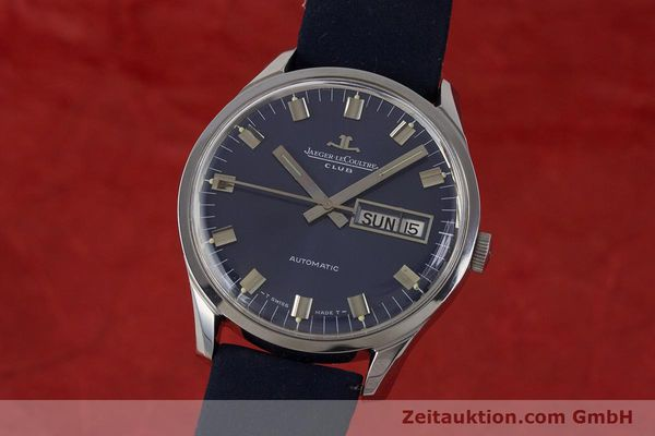 Used luxury watch Jaeger Le Coultre Club steel automatic Kal. AS1908 Ref. E300105  | 161746 04