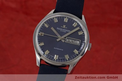 JAEGER LE COULTRE CLUB ACCIAIO AUTOMATISMO KAL. AS1908 LP: 6350EUR [161746]
