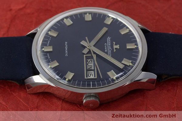 Used luxury watch Jaeger Le Coultre Club steel automatic Kal. AS1908 Ref. E300105  | 161746 05