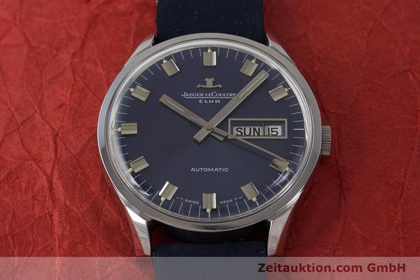 Used luxury watch Jaeger Le Coultre Club steel automatic Kal. AS1908 Ref. E300105  | 161746 14
