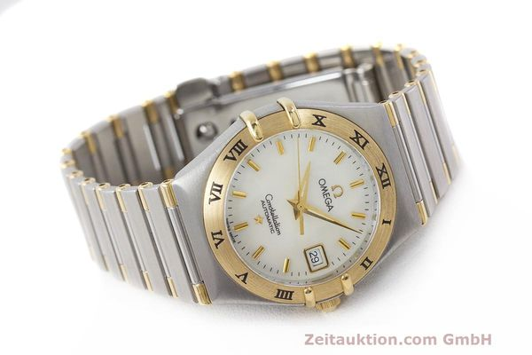 Used luxury watch Omega Constellation steel / gold automatic Kal. 2520 ETA 2000  | 161747 03