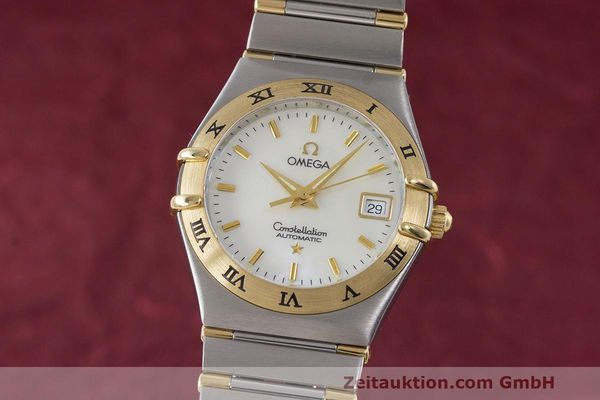 Used luxury watch Omega Constellation steel / gold automatic Kal. 2520 ETA 2000  | 161747 04