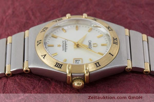 Used luxury watch Omega Constellation steel / gold automatic Kal. 2520 ETA 2000  | 161747 05