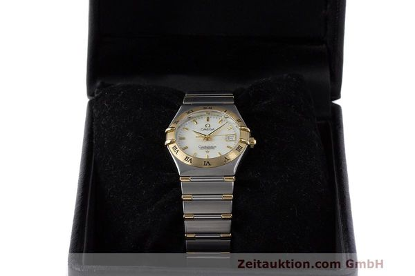 Used luxury watch Omega Constellation steel / gold automatic Kal. 2520 ETA 2000  | 161747 07