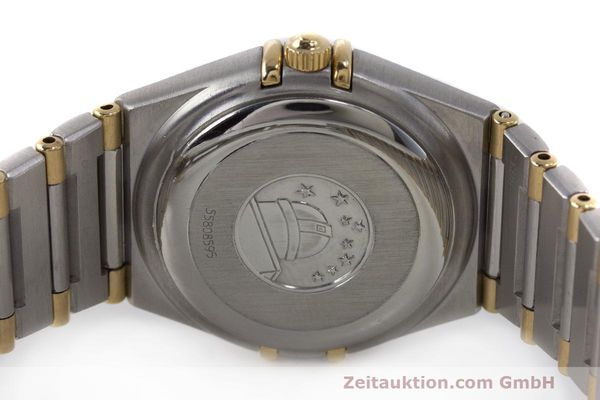 Used luxury watch Omega Constellation steel / gold automatic Kal. 2520 ETA 2000  | 161747 08