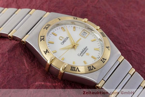 Used luxury watch Omega Constellation steel / gold automatic Kal. 2520 ETA 2000  | 161747 15