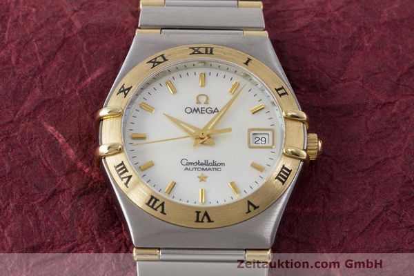 Used luxury watch Omega Constellation steel / gold automatic Kal. 2520 ETA 2000  | 161747 16