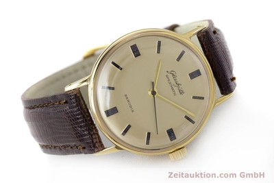 GLASHÜTTE SPEZIMATIC GOLD-PLATED AUTOMATIC KAL. 74 VINTAGE [161751]