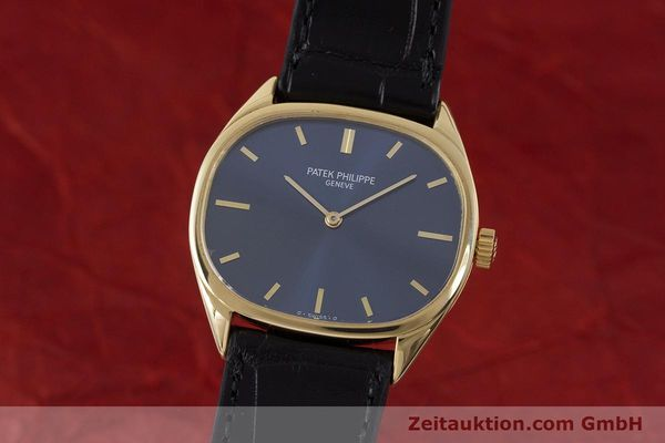 Used luxury watch Patek Philippe Ellipse 18 ct gold manual winding Kal. 23-300 Ref. 3545 VINTAGE  | 161755 04