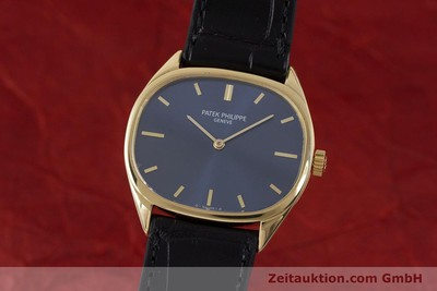 PATEK PHILIPPE 18K (0,750) GOLD ELLIPSE HANDAUFZUG 3545 MEDIUM VP: 19930,- EURO [161755]