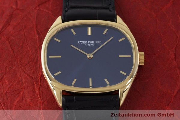 Used luxury watch Patek Philippe Ellipse 18 ct gold manual winding Kal. 23-300 Ref. 3545 VINTAGE  | 161755 15