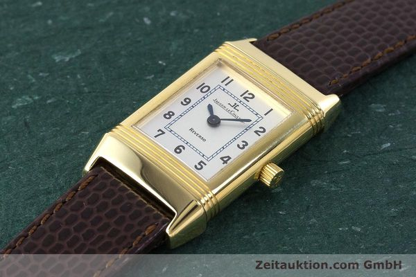 Used luxury watch Jaeger Le Coultre Reverso 18 ct gold manual winding Kal. 846/1 Ref. 260.1.86  | 161756 01