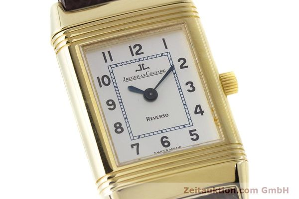 Used luxury watch Jaeger Le Coultre Reverso 18 ct gold manual winding Kal. 846/1 Ref. 260.1.86  | 161756 02