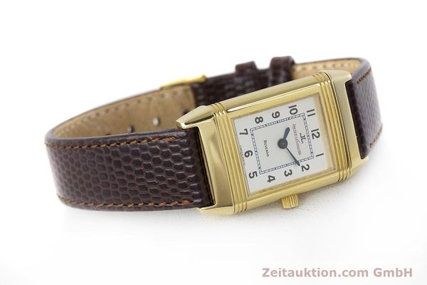 Used luxury watch Jaeger Le Coultre Reverso 18 ct gold manual winding Kal. 846/1 Ref. 260.1.86  | 161756 03