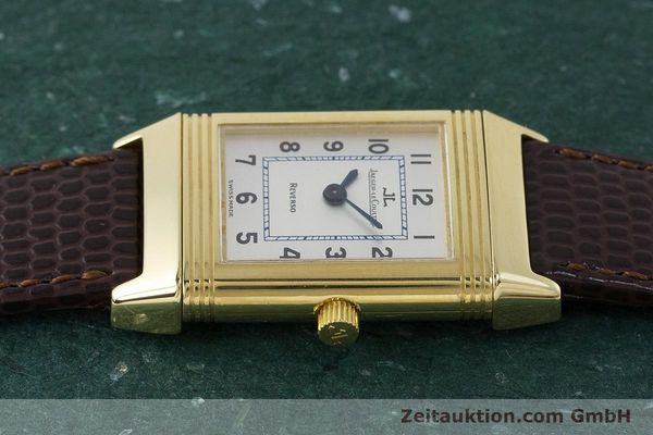 Used luxury watch Jaeger Le Coultre Reverso 18 ct gold manual winding Kal. 846/1 Ref. 260.1.86  | 161756 05