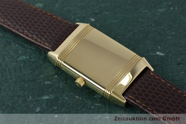 Used luxury watch Jaeger Le Coultre Reverso 18 ct gold manual winding Kal. 846/1 Ref. 260.1.86  | 161756 17