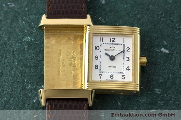 Used luxury watch Jaeger Le Coultre Reverso 18 ct gold manual winding Kal. 846/1 Ref. 260.1.86  | 161756 18