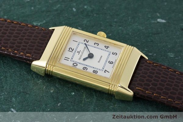 Used luxury watch Jaeger Le Coultre Reverso 18 ct gold manual winding Kal. 846/1 Ref. 260.1.86  | 161756 19