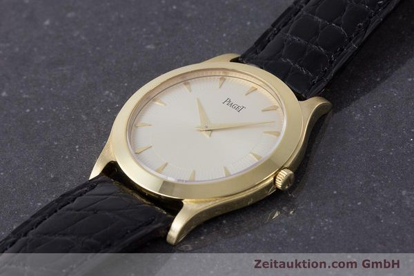 Used luxury watch Piaget * 18 ct gold manual winding Kal. 9P2 Ref. 91000 LIMITED EDITION | 161757 01