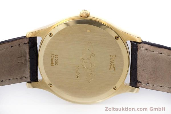Used luxury watch Piaget * 18 ct gold manual winding Kal. 9P2 Ref. 91000 LIMITED EDITION | 161757 08
