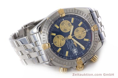 BREITLING EVOLUTION CHRONOGRAPH STEEL / GOLD AUTOMATIC KAL. B13 ETA 7750 LP: 8390EUR [161758]