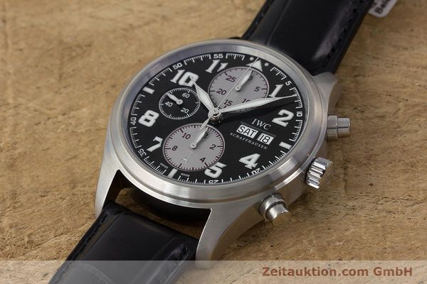 Used luxury watch IWC Fliegeruhr chronograph steel automatic Kal. 79320 Ref. 3717 LIMITED EDITION | 161759 01