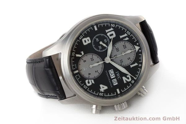 Used luxury watch IWC Fliegeruhr chronograph steel automatic Kal. 79320 Ref. 3717 LIMITED EDITION | 161759 03